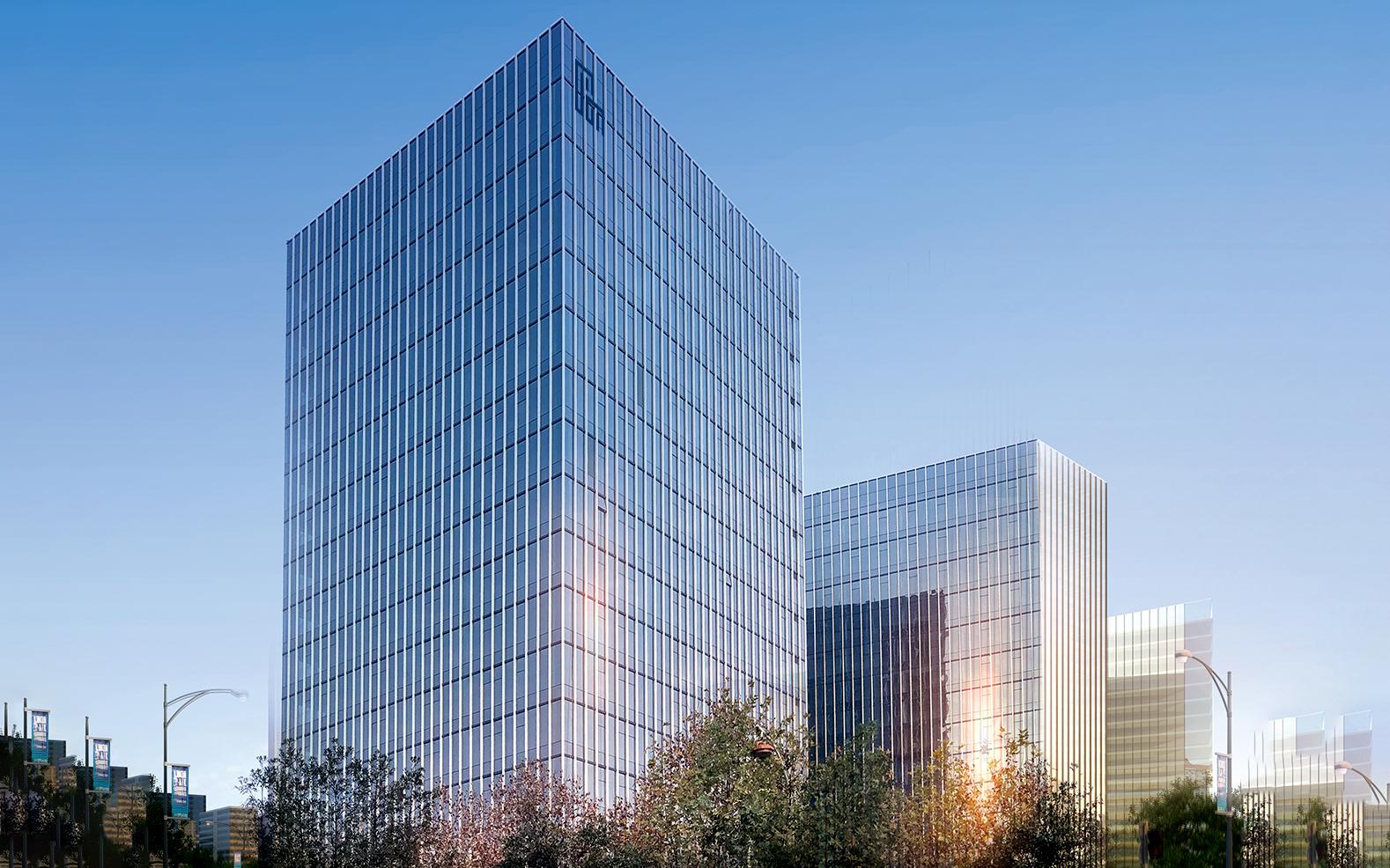 东业北软智慧科创大厦写字楼效果图